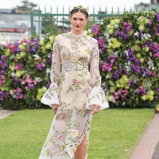 Jesinta Campbell Spring Racing Style and Beauty Tips
