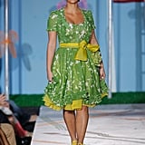 She walked the runway for Heatherette during New York Fashion Week in September 2007.