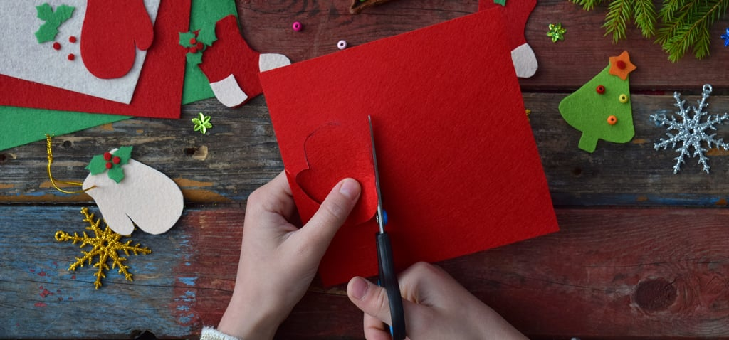 Kid-Friendly Holiday Crafts That Double as Decor