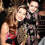 Pictured: Jessica Biel and Mckenna Grace
