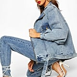 Boohoo Oversized 80's Style Denim Jacket
