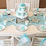 Mermaid Party Table