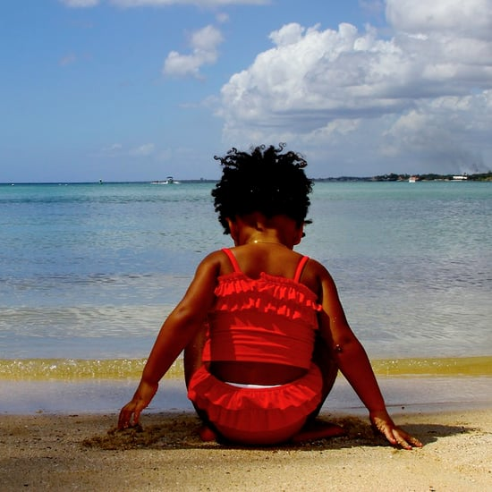 "Blue Ivy Saying ""Surfboard"" 