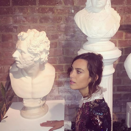 Celebrity Instagrams From London Fashion Week Spring 2016
