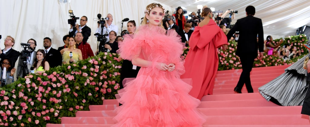Emma Roberts Pink Dress Met Gala 2019