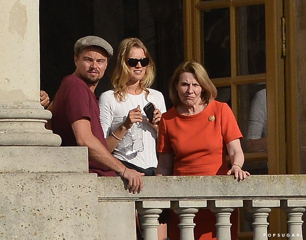 Leonardo DiCaprio and Toni Garrn toured the Palace of Versailles in France on June 6.