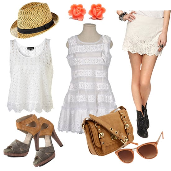 How to Style Lace and Eyelet