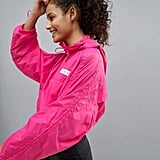 ASOS 4505 Parachute Cropped Jacket With Hood