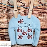 """Elf Shark"" Elf on the Shelf Sweater"