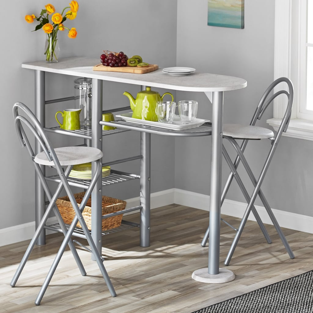 Mainstays Brooklyn Counter Height Dining Set Small Space Furniture