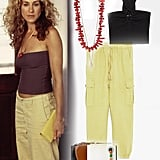 Carrie Bradshaw's Tube Top and Cargos