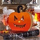 Glitter Led Wood Pumpkin ($1-$8)