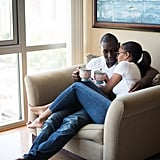 Casual Home Engagement Shoot