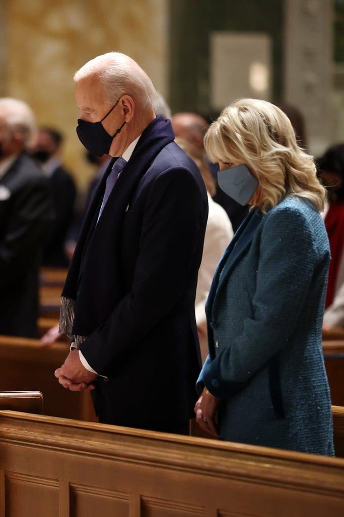 Joe Biden Wears a Navy Ralph Lauren Suit For Inauguration