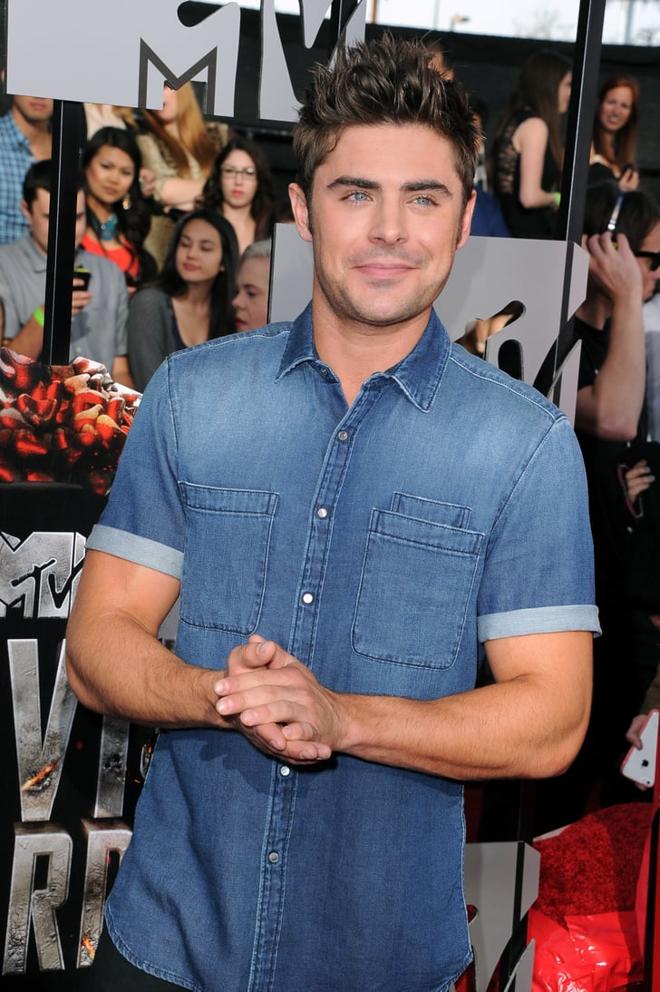 Zac Efron | MTV Movie Awards 2014 | Red Carpet Pictures ...