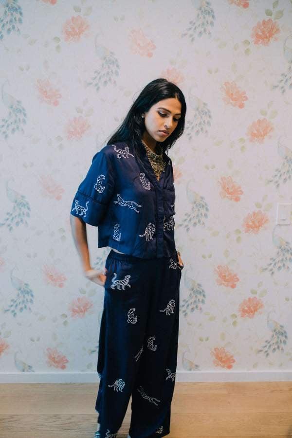 Sani Leopard Loungewear Set