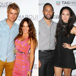 Celebrity Weddings: Rebecca Breeds Benji Marshall Zoe Balbi