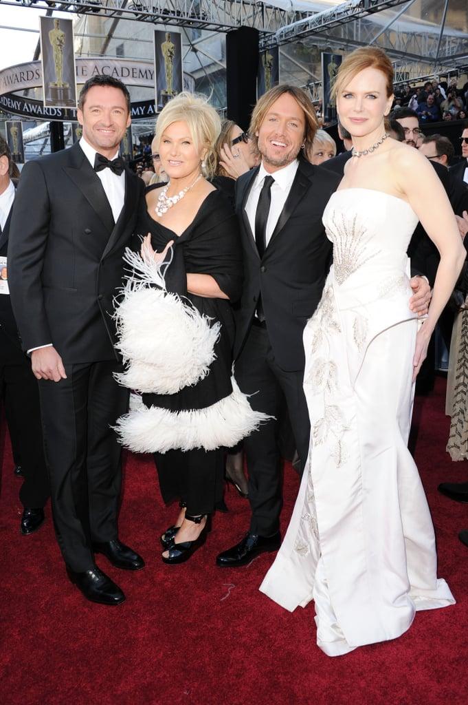 Australian Actors and Nominees at the 2011 Oscars Including Nicole Kidman, Cate Blanchett, Liam Hemsworth, Ryan Kwanten