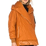 A pumpkin spice puffer like this Bacon Big Blanket 78 Jacket ($394) will look and feel delicious all season long.