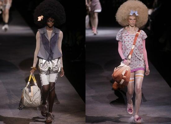 Louis Vuitton Spring 2010 at Paris Fashion Week