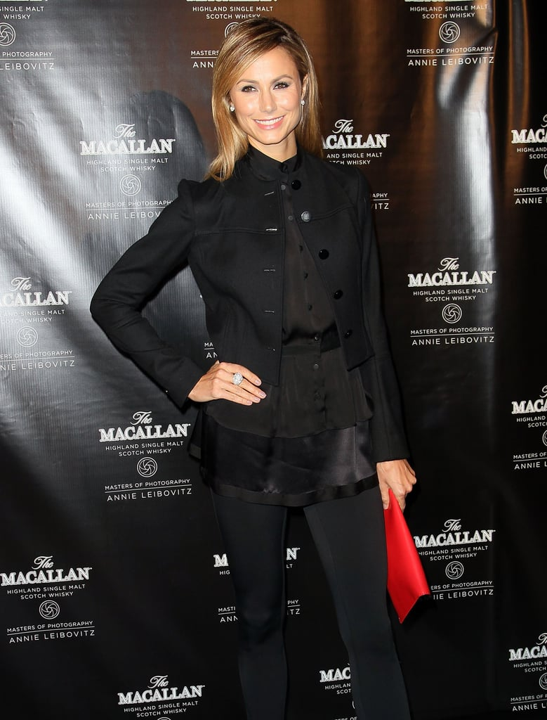 Stacy Keibler wore all black for the event at the Bowery Hotel in ...