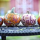 Sequins Pumpkins