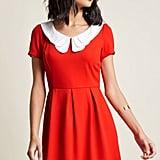 ModCloth Red Mini Dress