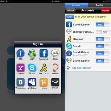 Ipad Chat App