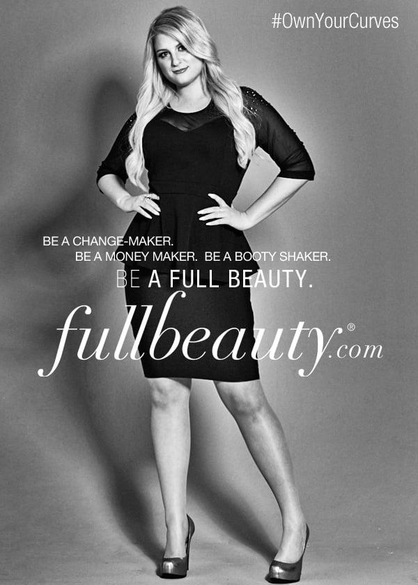 Meghan Trainor in FullBeauty Ad Campaign Fall 2015
