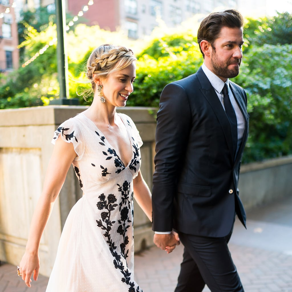 "Oh, sorry, I didn't see you there. I'm extremely busy weeping over these photos of John Krasinski and Emily Blunt holding hands at a charity event. The iconic couple spent the evening before their wedding anniversary at the American Institute for Stuttering's annual Freeing Voices, Changing Lives Benefit Gala, which Emily hosted.  While the duo celebrate their eight-year anniversary on July 10, they've actually been together for a decade. Their relationship was essentially ""like"" at first sight, and after working on projects and raising two daughters (Hazel and Violet) together, their look of love has only grown. If you're ready to tear up and believe in love again, may I suggest scrolling through the following photos? I'm not saying my faith in relationships is restored after seeing these two, but . . . yes, that's exactly what I'm saying.      Related:                                                                                                           John Krasinski and Emily Blunt Can't Keep Their Hands Off Each Other at SXSW"