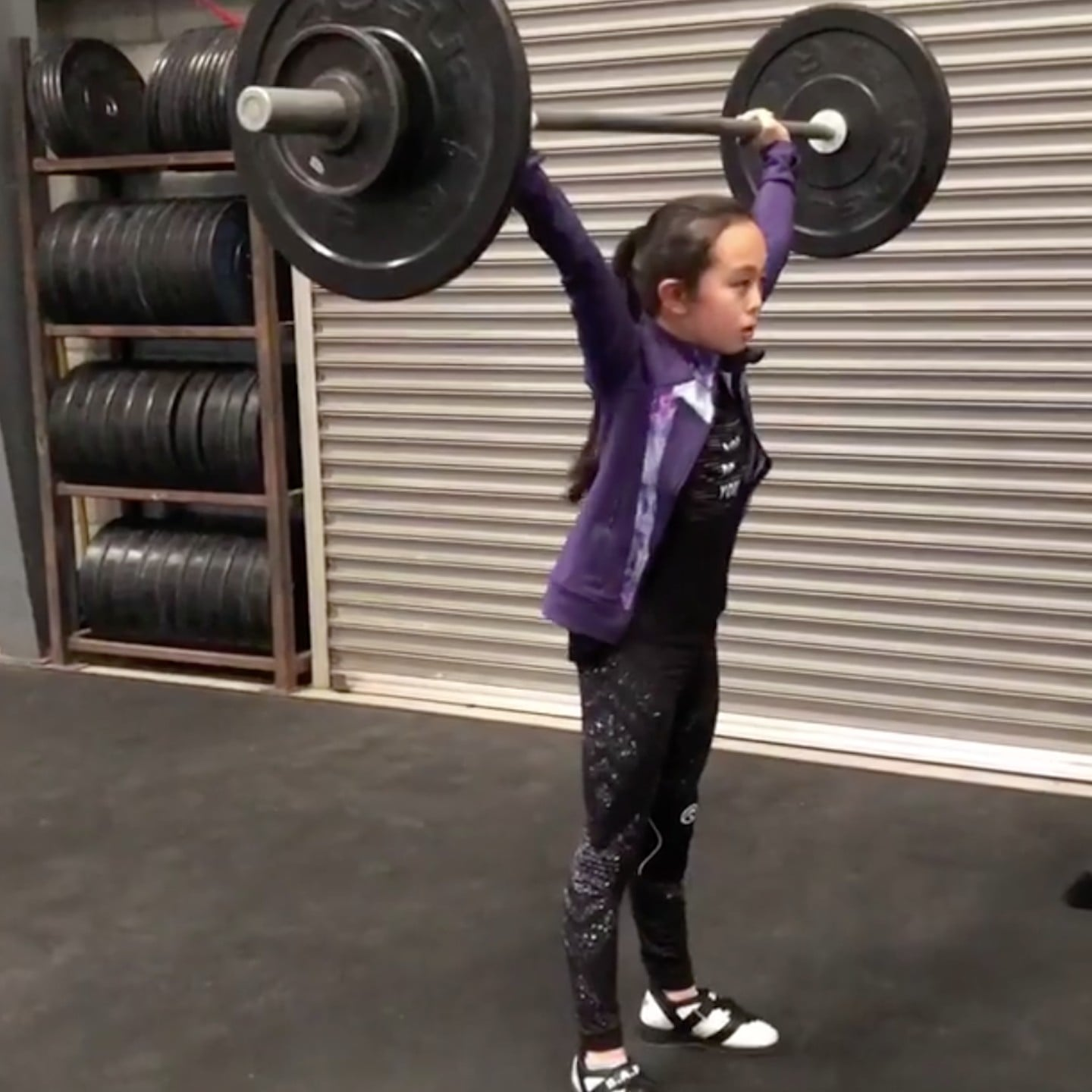 Who Is Elle Hatamiya Young Weightlifting Girl Popsugar Fitness