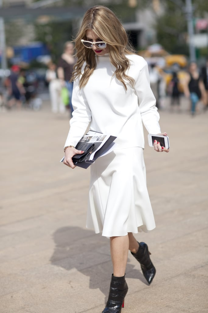 Behold the chic power of black and white.