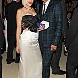 Gwen Stefani and Gavin Rossdale made a stylish dinner pair at the Met Gala. Source: Billy Farrell/BFANYC.com