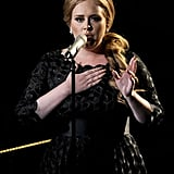 "Adele belted out ""Someone Like You"" during the VMAs."