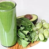 Spinach Avocado Grape Smoothie