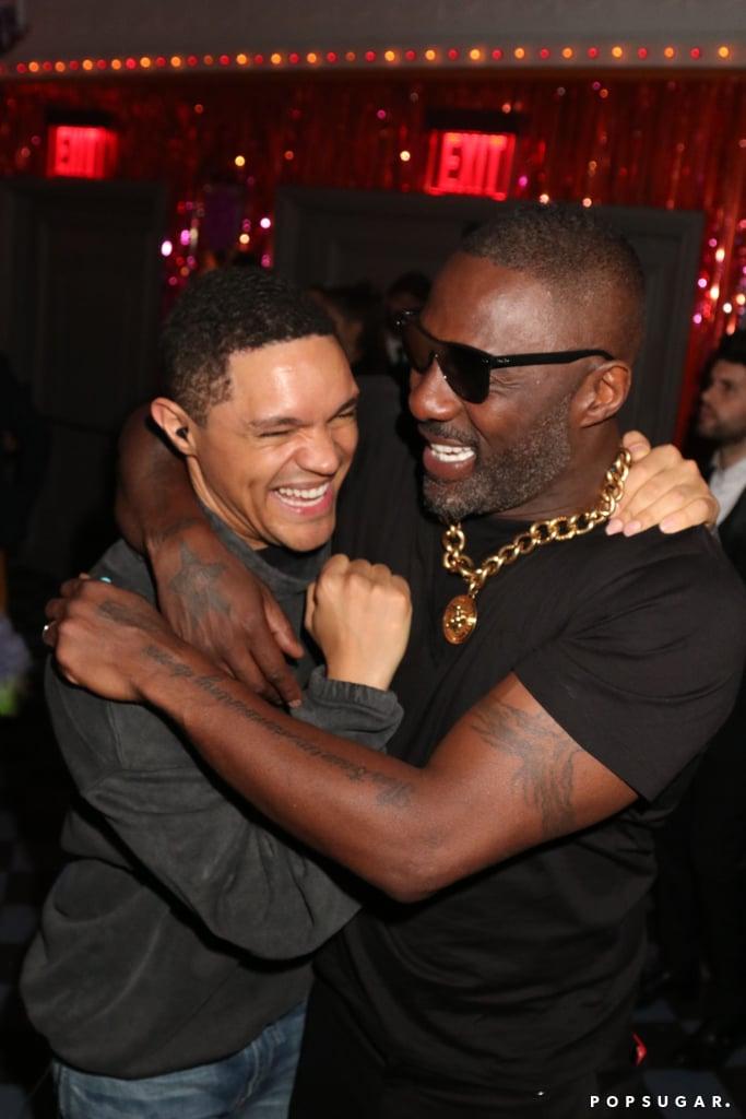 Trevor Noah and Idris Elba