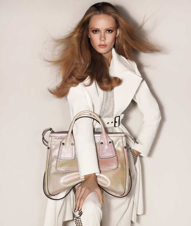 Sportmax included ombre-tinged handbags for Spring '12. Source: Fashion Gone Rogue
