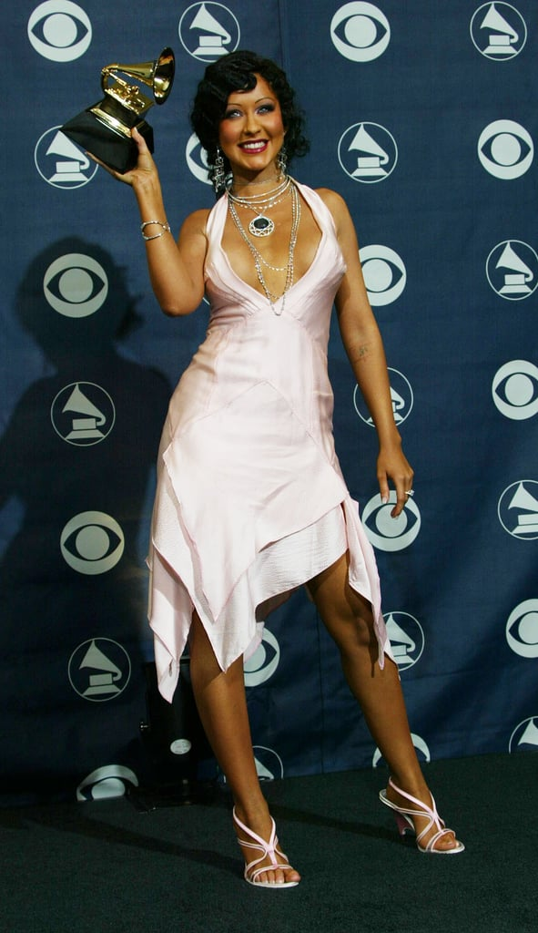 Christina Aguilera, 2004 | Memorable Grammy Outfits Worn ...