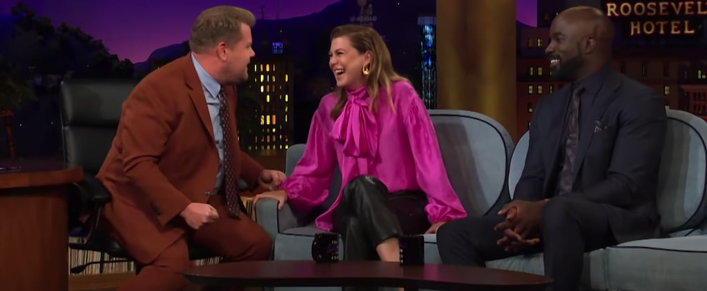Ellen Pompeo Talking About Grey's Anatomy With James Corden