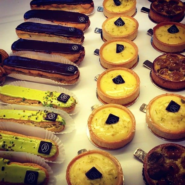 No trip to Paris would have been complete without a stop at a patisserie. Those lemon tarts were dangerously good.