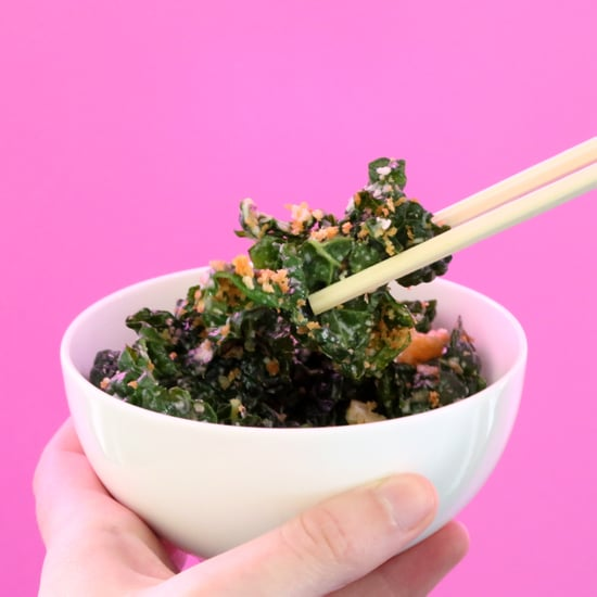 How to Eat Salad With Chopsticks