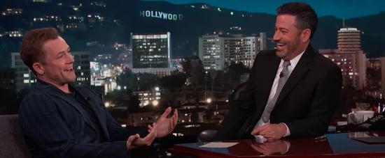 Taron Egerton Talking About Rocketman to Jimmy Kimmel Video