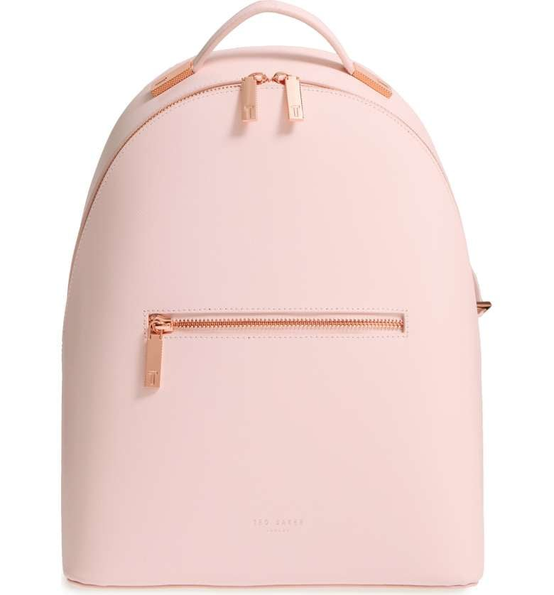 Ted Baker Mini Jarvis Leather Backpack