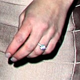 Britney proudly wore her new engagement ring.