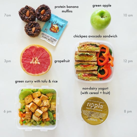 What I Eat In a Day Vegan Food Journals from Instagram