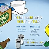 "It's Always Sunny in Philadelphia ""Rum Ham and Milk Steak"""
