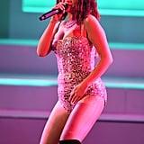 Selena Gomez Performing at the 2019 American Music Awards in November
