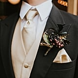 Black and Gold Halloween Wedding