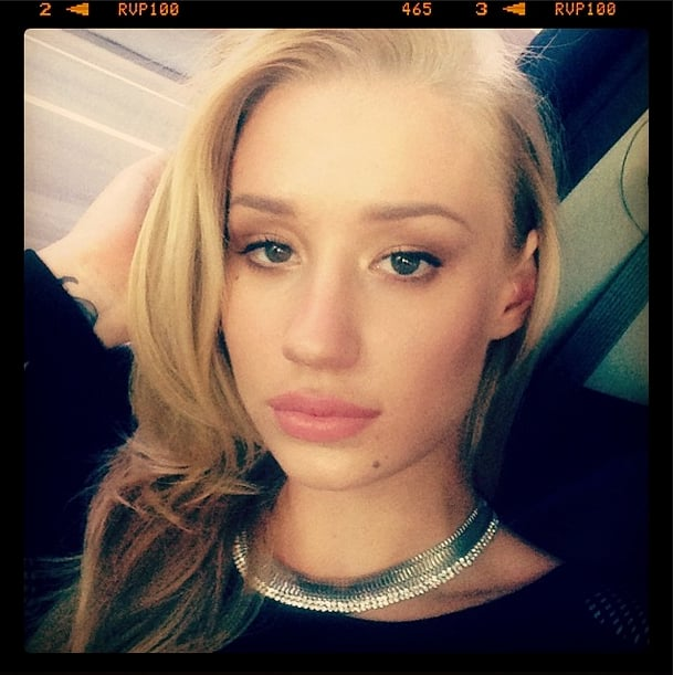 Fancy! Iggy Azalea showed her natural side in a gorgeous selfie.  Source: Instagram user thenewclassic