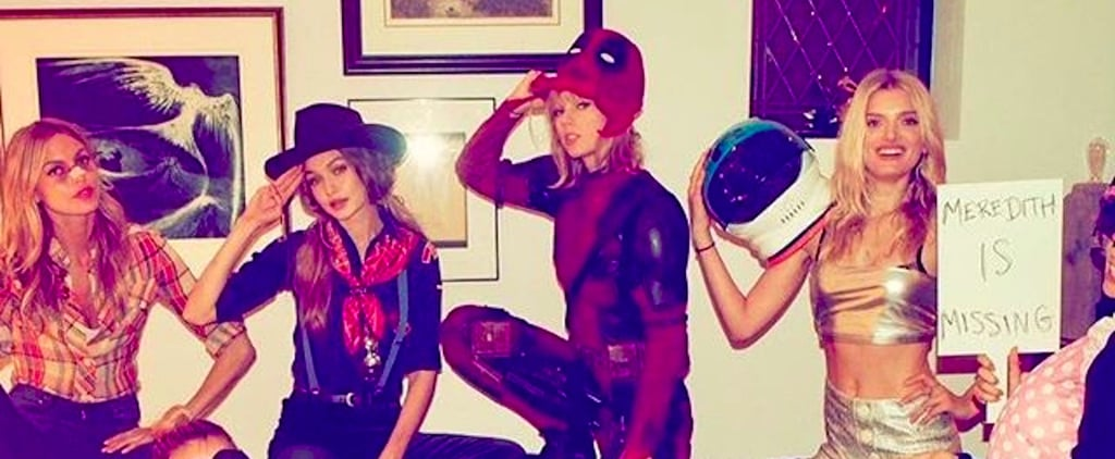 Taylor Swift Re-Creates Ryan Reynold's Deadpool Costume, and Blake Lively Totally Approves